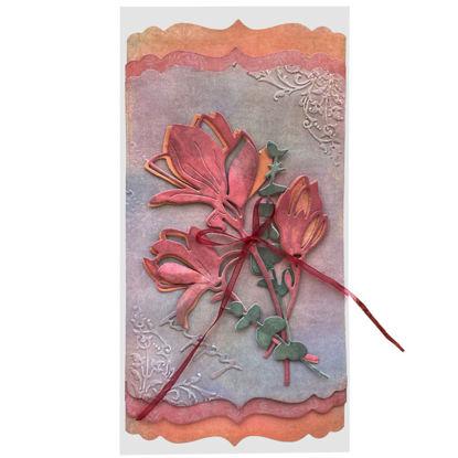 Obrázek Přáníčko do obálky Květy