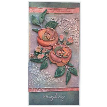 Obrázek Přáníčko do obálky Gratulace s květy