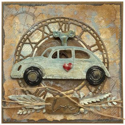Obrázek Přání do obálky Auto na klíček