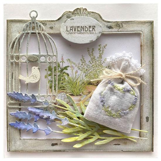 Obrázek Voňavé přání Levandule s ptáčkem