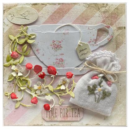Obrázek Voňavé přání Čas na čaj - jahodník