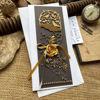 Obrázek Kondolence Zlatá růže