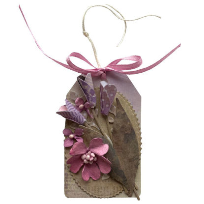 Obrázek Jmenovka na dárek (malá) Fialová