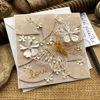 Obrázek Svatební přání Motýl v květech