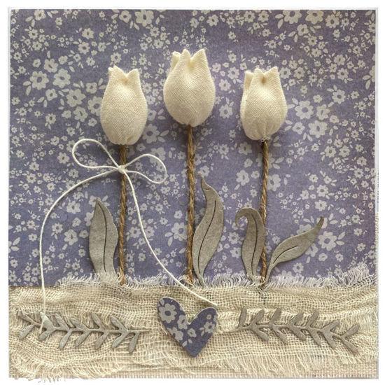 Obrázek Přání do obálky Country, tulipány