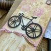 Originální květinové přáníčko pro cyklistky