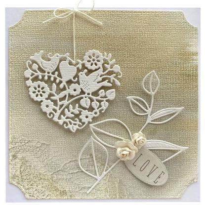Obrázek Svatební přání Srdce
