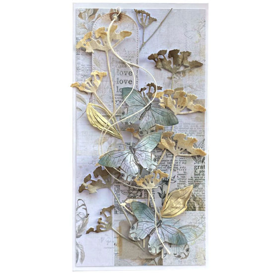 Obrázek Přání do obálky Motýlci v trávě