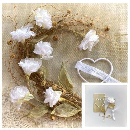 Obrázek Přání na peníze s krabičkou Přírodní kytice
