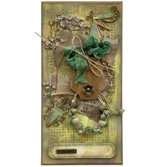 Obrázek Přání s dárkem Náramek zelený