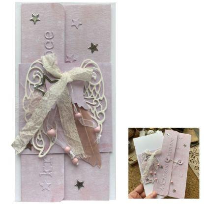 Obrázek Vánoční přání na peníze Andělské