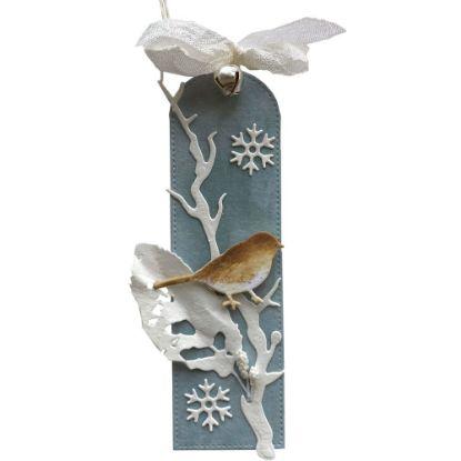 Obrázek Jmenovka na dárek (střední) Ptáček