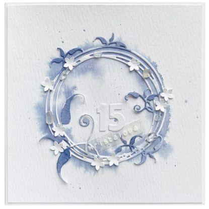 Obrázek 15. Křišťálová svatba Věneček