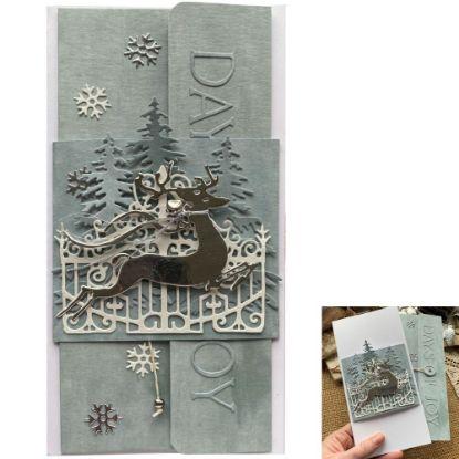 Obrázek Vánoční přání na peníze Jelen