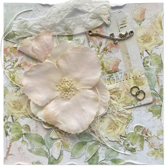 Obrázek Svatební přání Šípková růžička